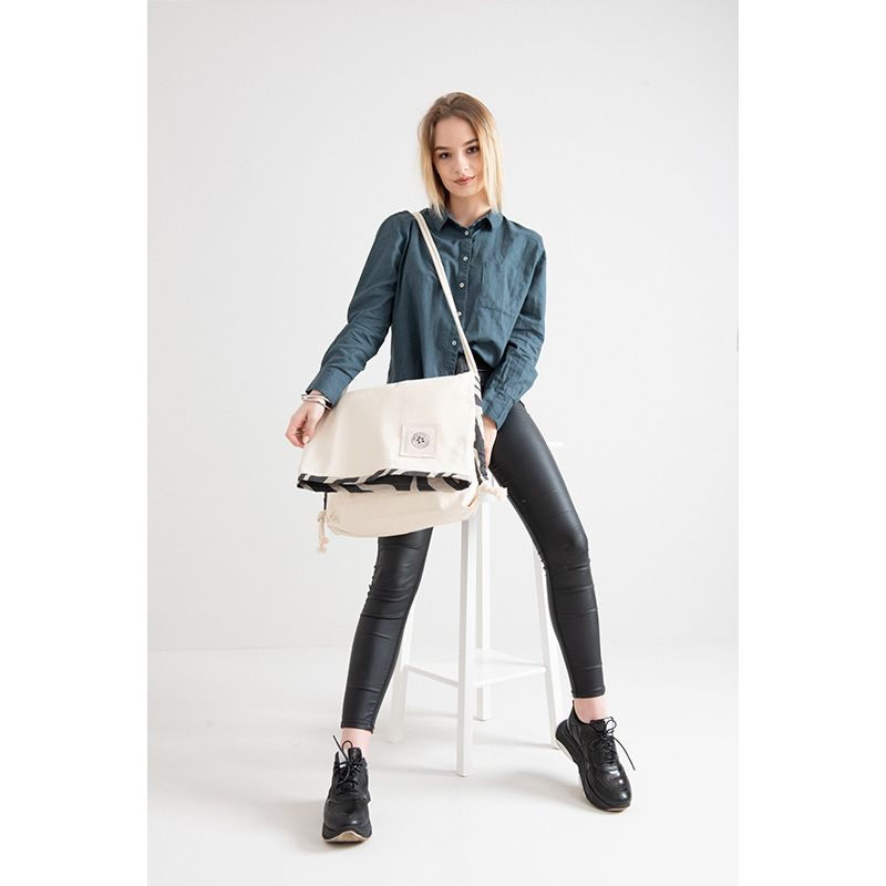 Eco Cotton Satchel