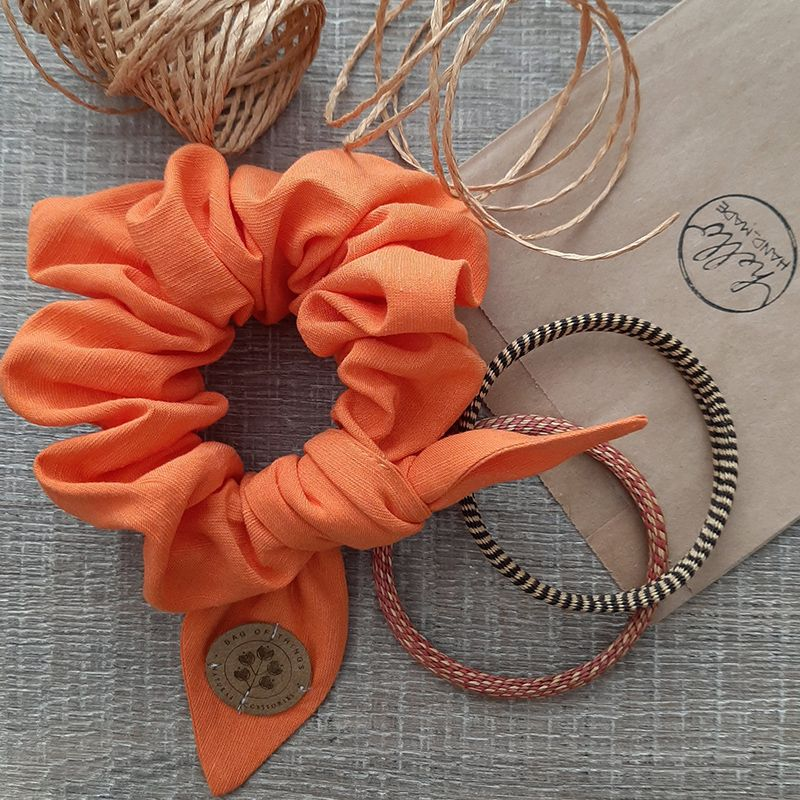 Scrunchie Pastel Orange |...