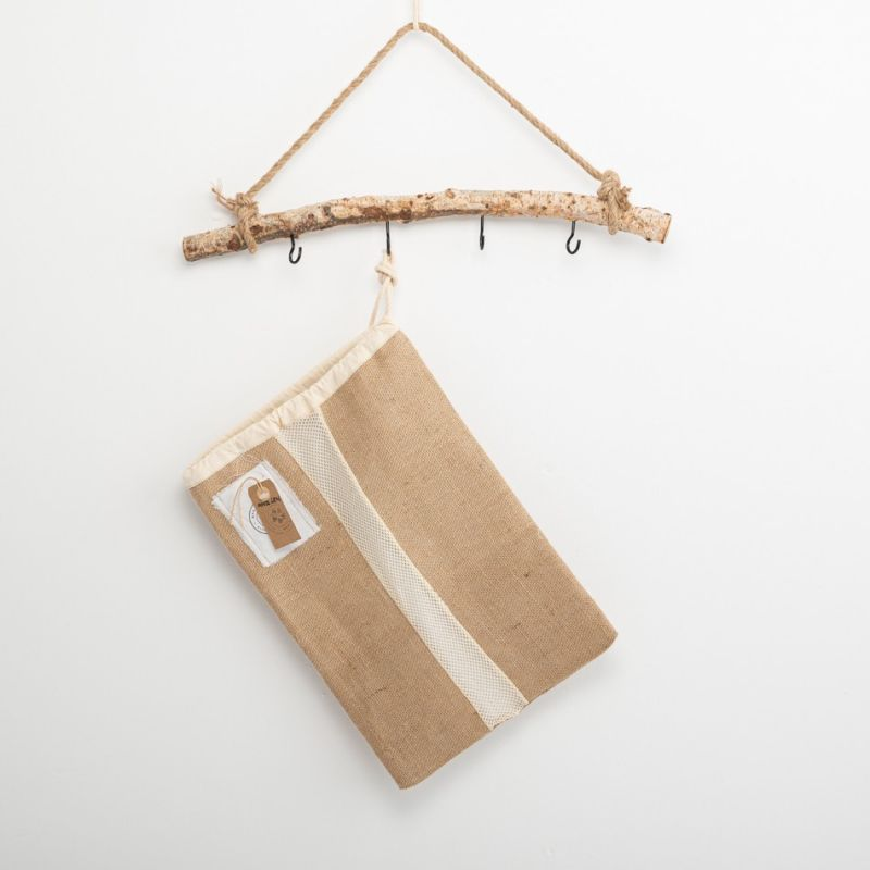 BAG for bread and staff